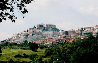 The town of Gesualdo in Campania, which is called 'the city of the prince of musicians' in honour of Carlo Gesualdo