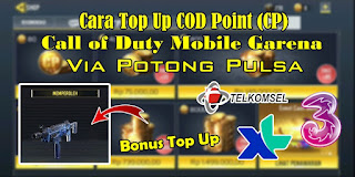 Cara Top Up CP Call Of Duty Mobile Garena