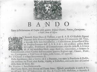 Immagine - Bando - Granduca di Toscana - Vino Carmignano