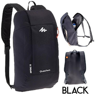 Quechua Arpenaz 10L Backpack Black Fleetworkers