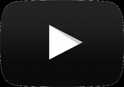 logo youtube hitam