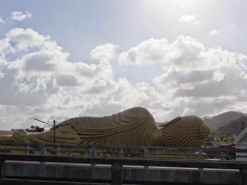 лежачий будда Таиланд