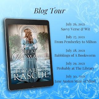 Blog Tour Schedule - A Learned Romance by Elizabeth Rasche