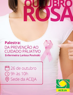 Aceja promove palestra do Outubro Rosa