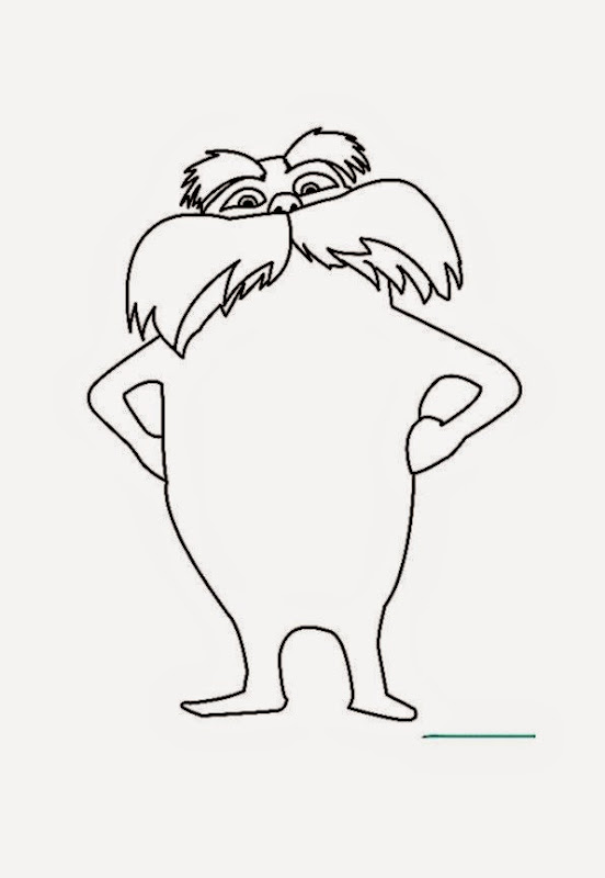 the lorax coloring pages - the lorax coloring sheets free coloring sheet