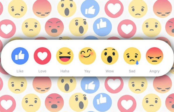 Facebook Emojis Reactions
