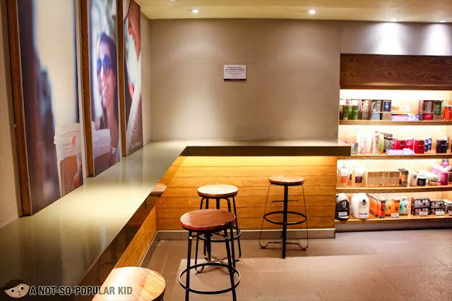 Interior of Coffee Bean in Malate Pensionne