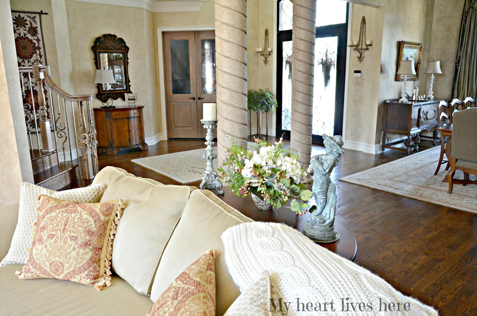 Summer In The French Country Living Room