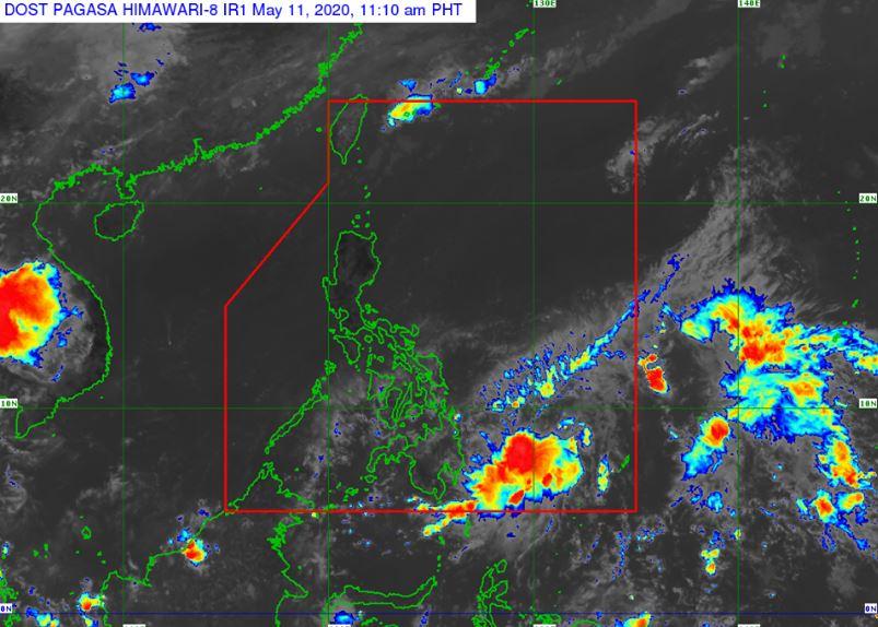 'Bagyong Ambo' PAGASA weather update May 11, 2020