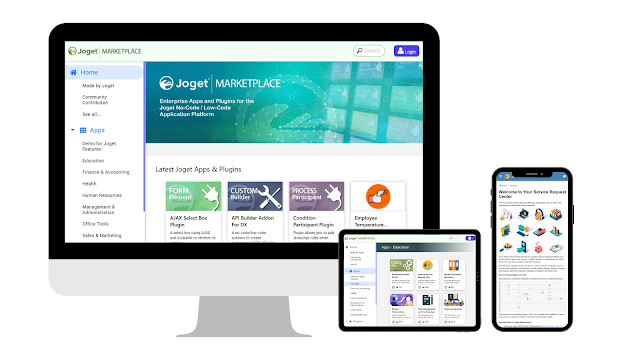 Joget Marketplace 2.0: A Valuable Resource for Non-Coders, Low-Coders and Pro-Coders