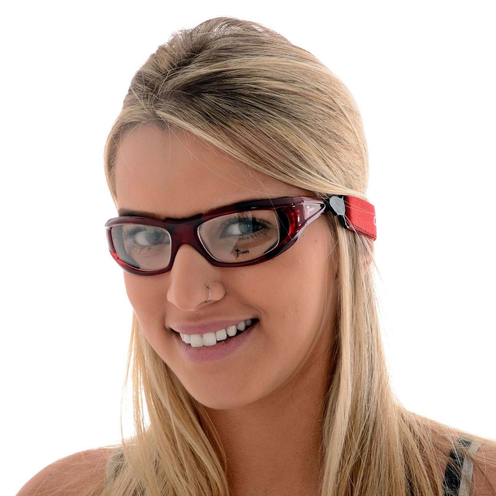 f0e3606ba Óculos para Esportes Titans Atlas, podendo ser usados tanto para prática de  esportes como para uso diário, pois possuem exclusivas tiras elásticas ...