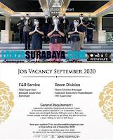 Job Vacancy at The Singhasari Resort Surabaya September 2020