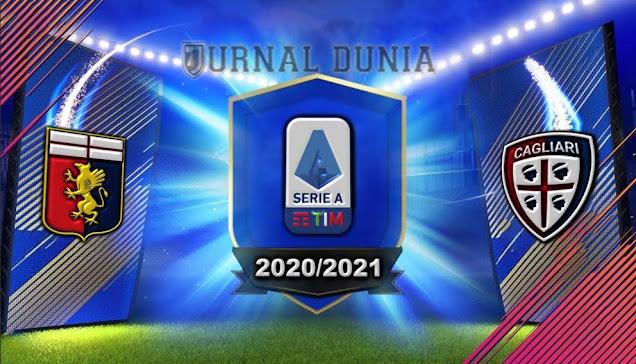 Prediksi Genoa vs Cagliari , Minggu 24 Januari 2021 Pukul 21.00 WIB