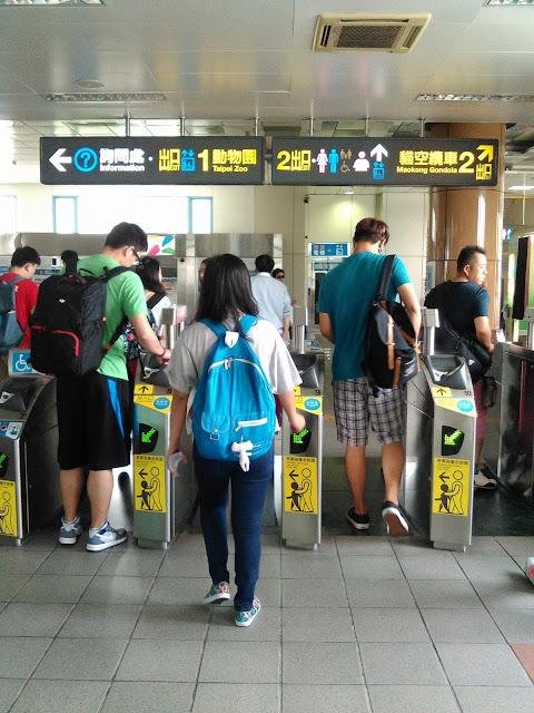 Taipei Zoo Station