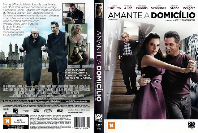 Capa DVD Amante a Domicílio