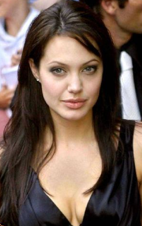 Tremendous Angelina Jolie Short Hairstyle Pictures Global Hairstyles Short Hairstyles For Black Women Fulllsitofus
