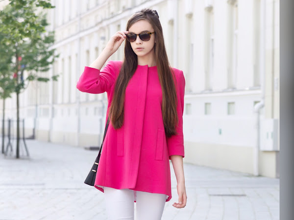 Outfit of the day: Pink in action
