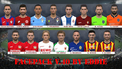 PES 2017 Facepack vol 40 by Eddie Facemaker