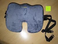 Kissen vorne: PREMIUM Memory-Schaum Posture orthopädische Sitzkissen , für Rückenschmerzen , Steißbein, Ischias, FREE Carry Bag & FREE Sitzkissenbezug von SunrisePro - 100% Unconditional