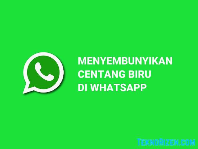 Cara Menyembunyikan Centang Biru di WhatsApp Tanpa Aplikasi
