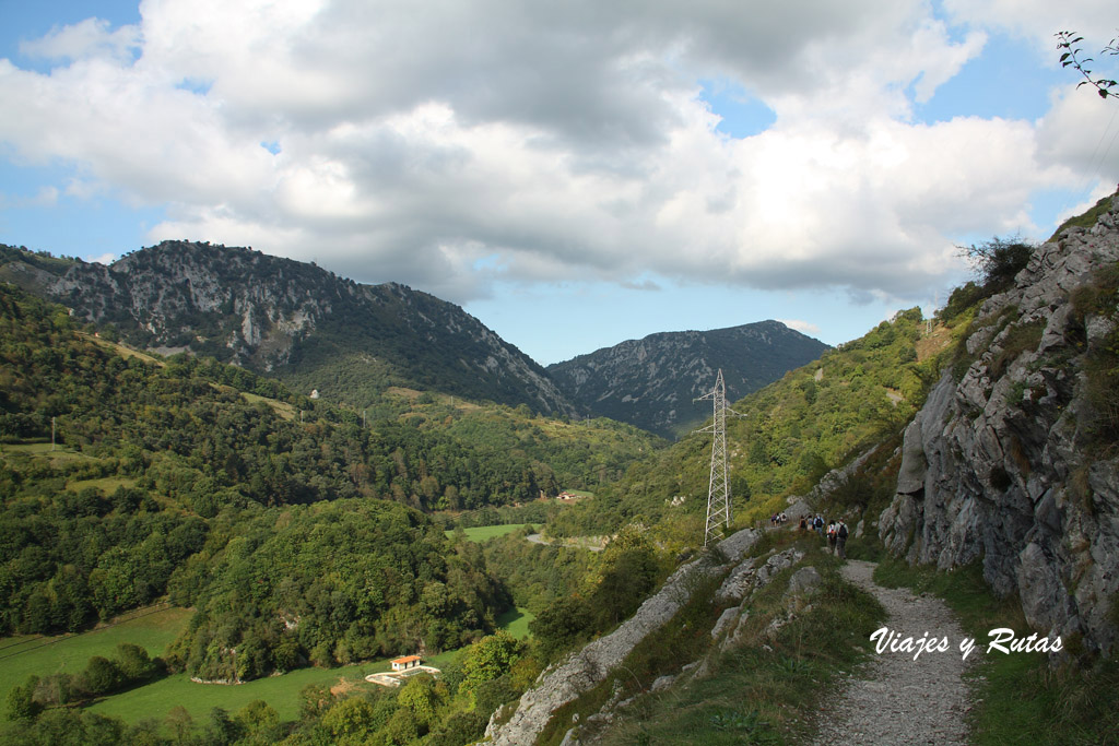 Ruta de las Xanas, Asturias