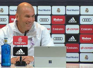 Zinedine Zidane en Conferencia de prensa RDP previa Real Madrid - Sevilla FC Copa del Rey