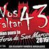 Repudio por usar a los 43 en publicidad de la Feria de San Marcos