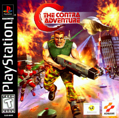 descargar c the contra adventure psx mega