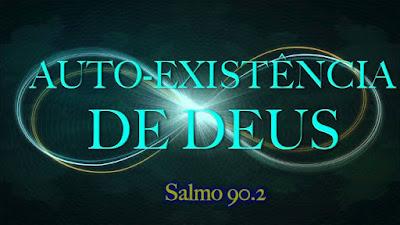 Antes que os montes nascessem, ou que tu formasses a terra e o mundo, mesmo de eternidade a eternidade, tu és Deus. Salmos 90:2