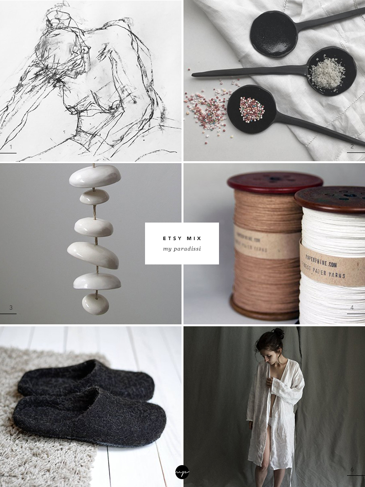 Curated Etsy finds by Eleni Psyllaki for My Paradissi