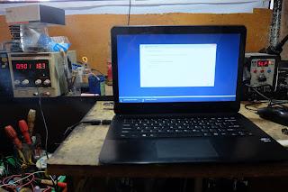 service laptop sony vio svf14 mati total