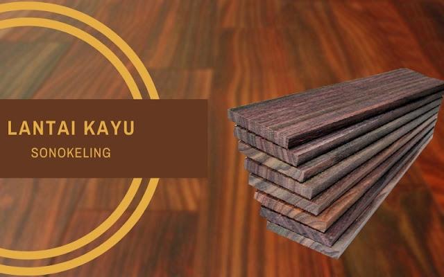 lantai kayu sonokeling