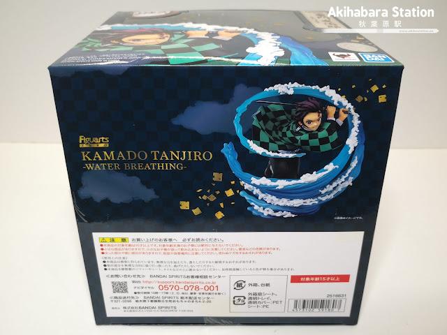 Figuarts ZERO Tanjiro Kamado - Mizu no Kokyû - de Kimetsu no Yaiba - Tamashii Nations.