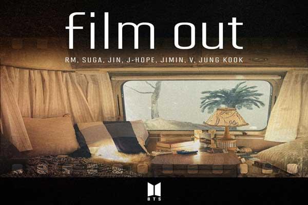 Lirik Lagu BTS Film Out dan Terjemahan