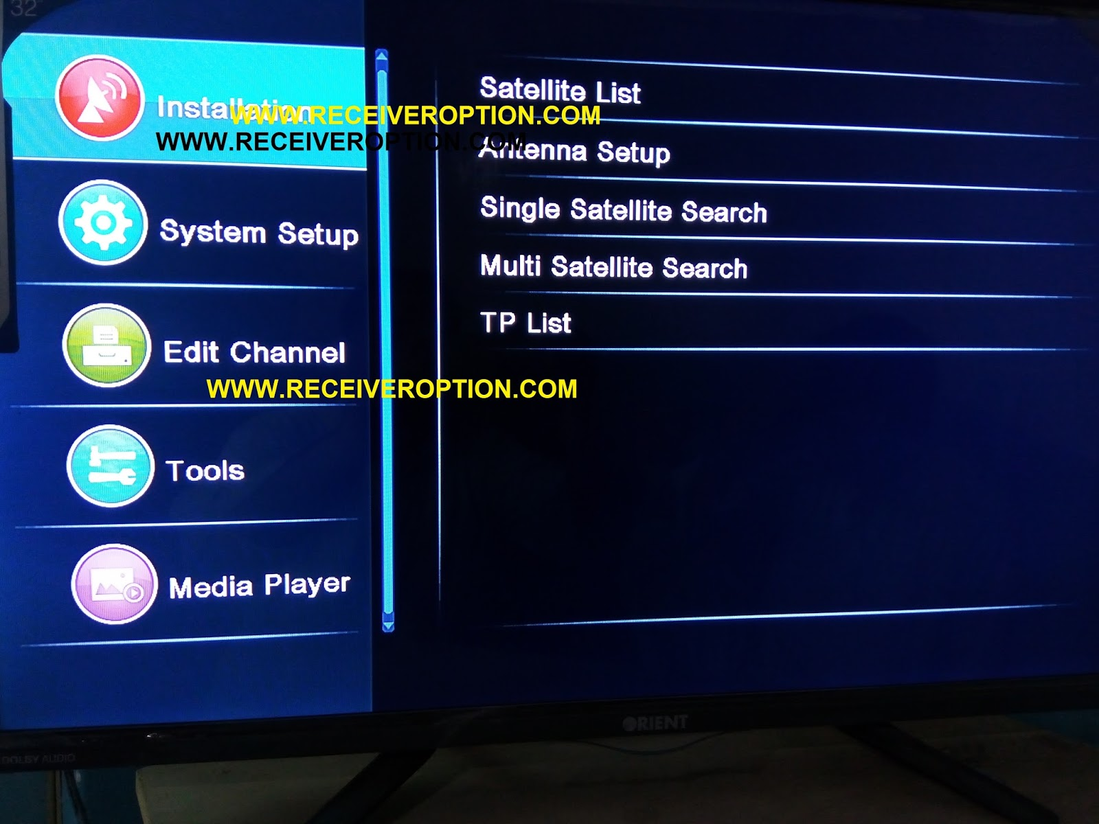 FIVE SAT GALAXY 6000 HD RECEIVER DUMP FILE - HOW TO ENTER