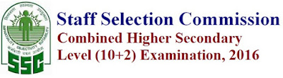 SSC CHSL  (10+2) Notification 2017 Apply Online for PS, SA, DEO, LDC,Clerk Posts