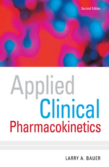 Applied Clinical PHARMACOKINETICS (Larry A. Bauer) 2nd Edition pdf free download