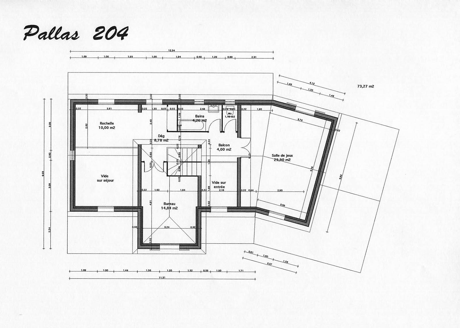 Plan de maison moderne gratuit en tunisie for Plan gratuit de maison