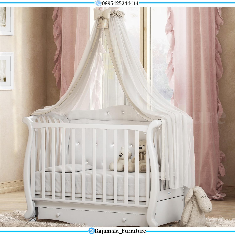 Box Bayi Kayu Desain Elegant High Quality Furniture Jepara RM-0067