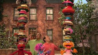 Alan, Chris, Abby Cadabby, Elmo, Zoe, Sesame Street Episode 4312 Elmo and Zoe's Hat Contest season 43