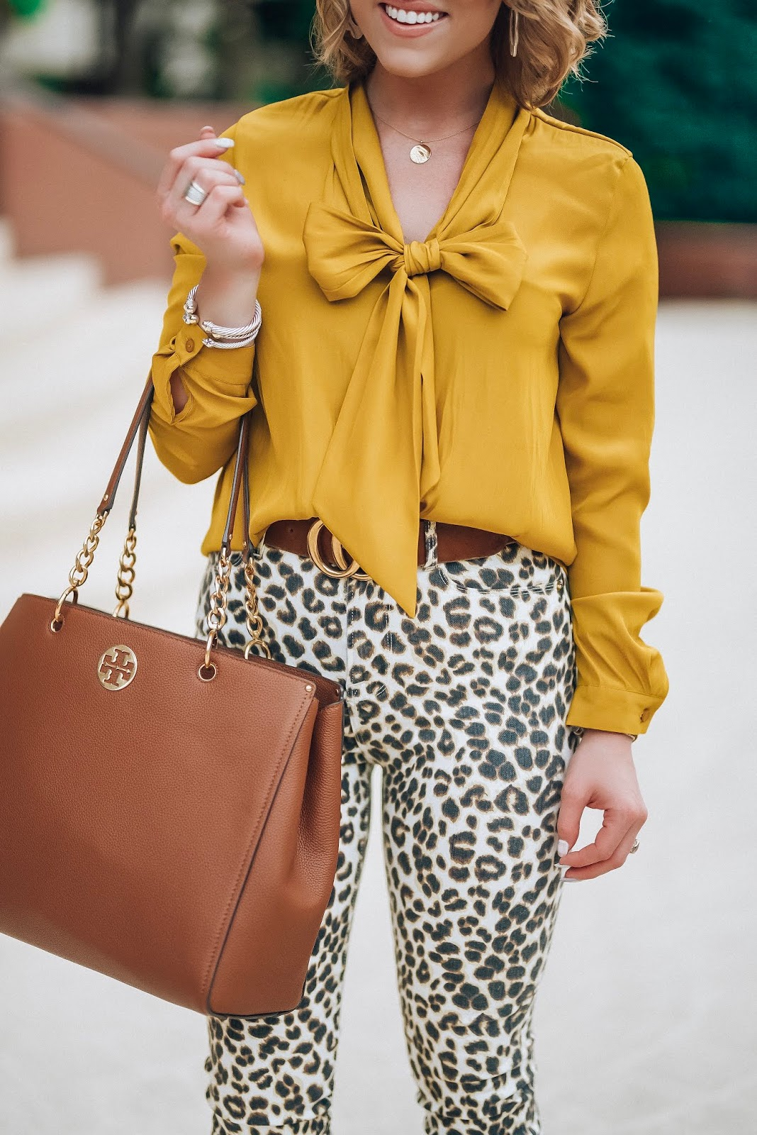 Leopard Denim + Mustard Yellow: Nordstrom Anniversary Look Still In Stock - Something Delightful Blog