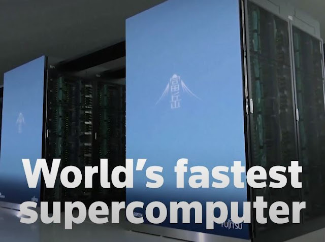Fugaku, the fastest supercomputer on the planet.