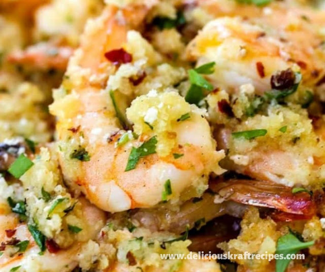CRISPY BAKED SHRIMP SCAMPI RECIPE