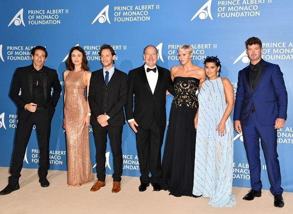Uma Thurman, Andy Garcia, Eva Longoria, Madonna, Martin Scorsese, Arnold Schwarzenegger, Leonardo DiCaprio at Ocean Gala