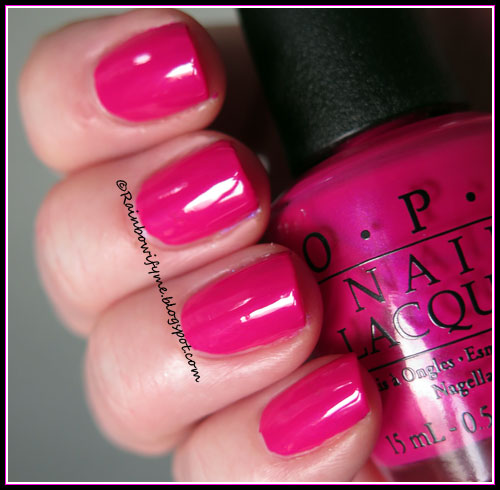 OPI ~ That's Berry Daring