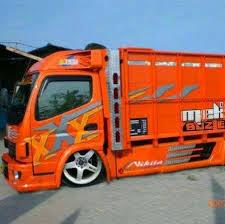modifikasi truk canter jawa