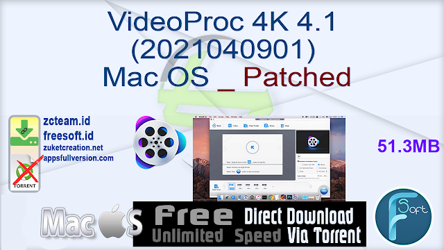 VideoProc 4K 4.1 (2021040901) Mac OS _ Patched
