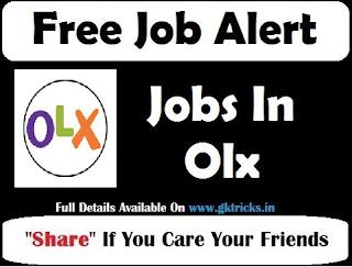 OLX Cash My Car Jobs