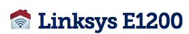 Linksys e1200 Setup Software