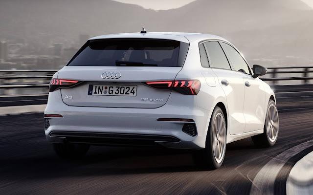 Novo Audi A3 2021 ganha versão movida a gás natural - Europa
